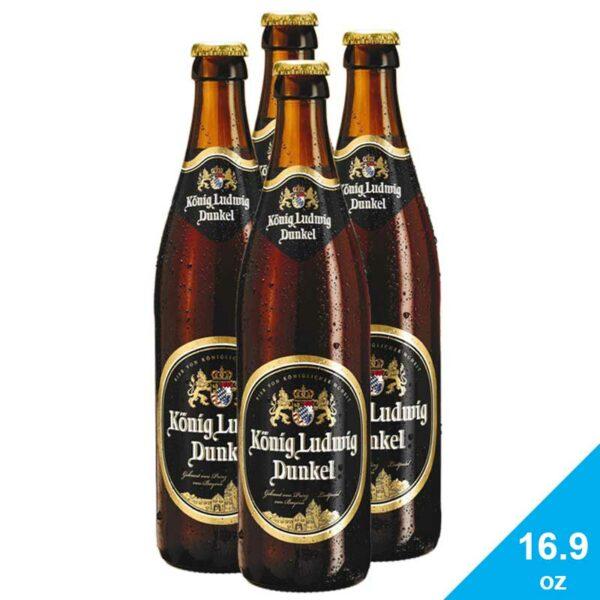 Cerveza König Ludwig Dunkel, 16.9 oz
