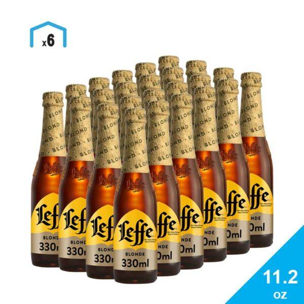 Cerveza Leffe Rubia, 11.2 oz