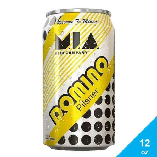 Cerveza MIA Domino Pilsner, 12 oz