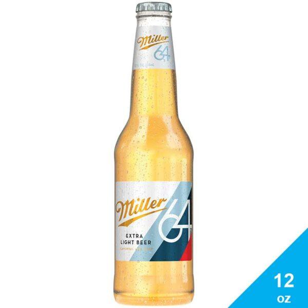 Cerveza Miller 64, 12 oz