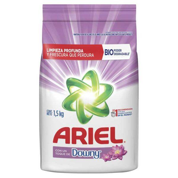 Detergente Ariel con Toque Downy, 1500 g