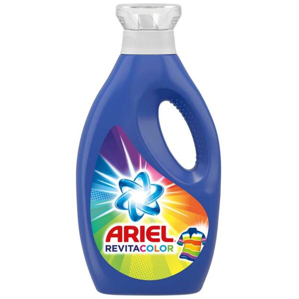 Detergente Líquido Ariel Revitacolor, 40.5 oz
