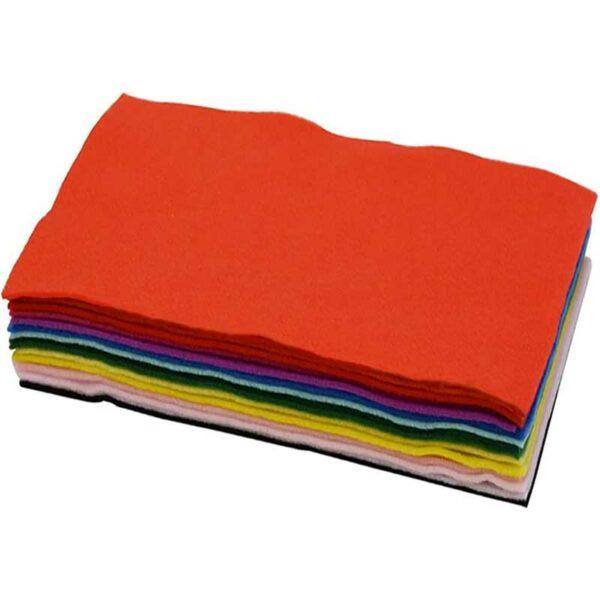 Fieltro Ofimak Colores Mixtos, 10 uds