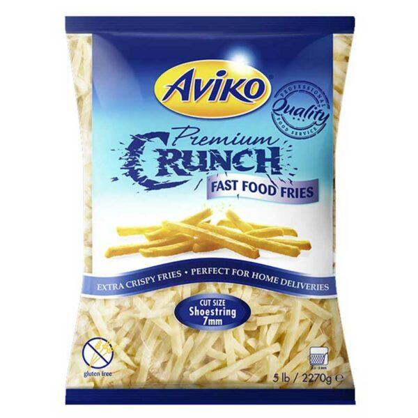 Papas Fritas Aviko Premium Crunch, 5 lbs
