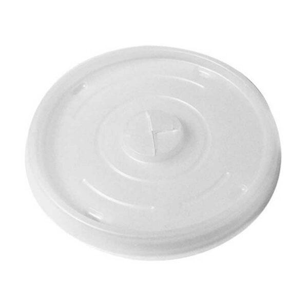 Tapa Transparente para Vaso Foam de 16 oz Plastifar (100 uds)