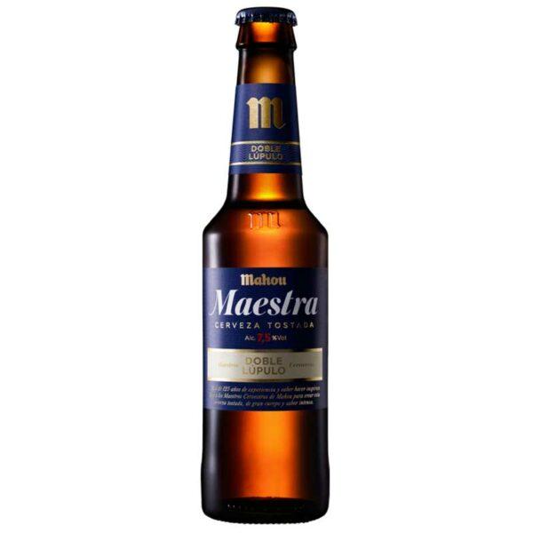 Cerveza Mahou Maestra Doble Lúpulo, 11.2 oz