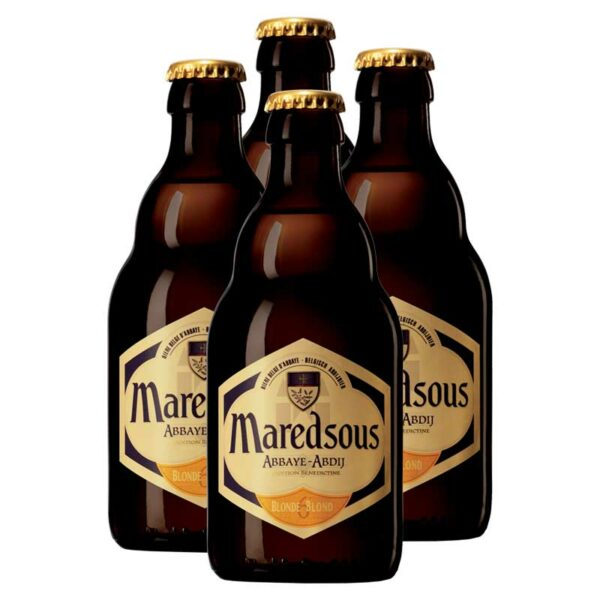 Cerveza Maredsous Blonde, 11.2 oz