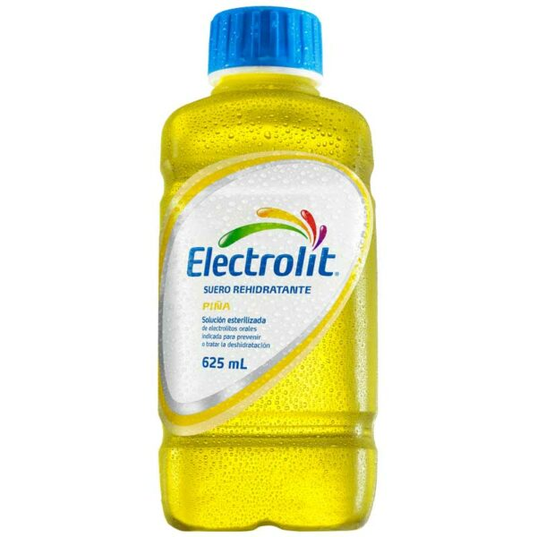 Electrolit Suero Rehidratante Sabor Piña, 21 oz