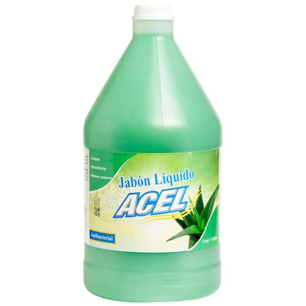 Jabón Líquido de Manos Acel Aroma Aloe Vera, 1 gal