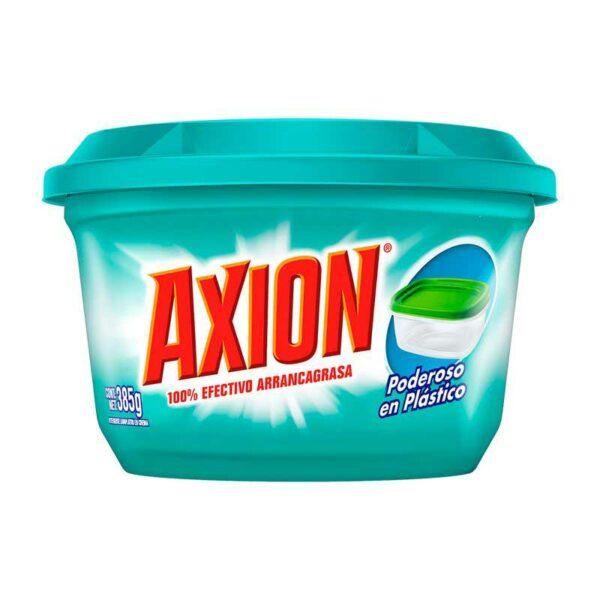 Lavaplatos Axion Poderoso en Plastico Pasta, 385 g