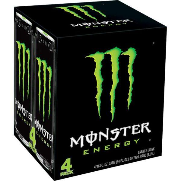 Monster Energy Original, 16 oz (4 uds)