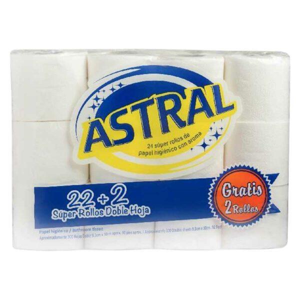Papel Higiénico Astral (24 uds)