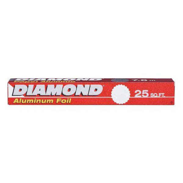 "Papel de Aluminio Diamond (12"" x 25')"