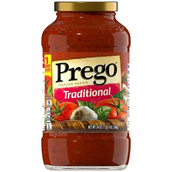 Salsa Italiana Prego Tradicional, 24 oz