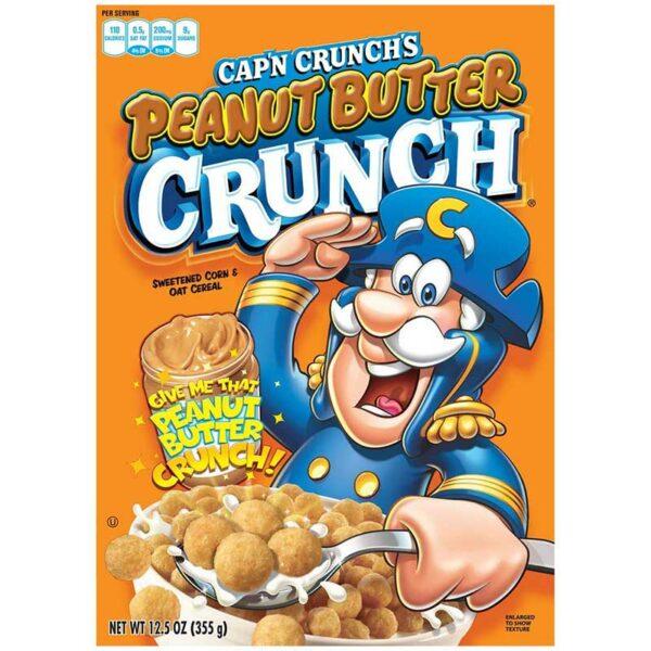 Cereal Cap'n Crunch's Mantequilla de Maní, 355 g