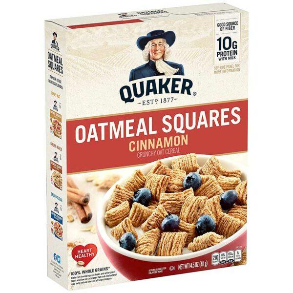 Cereal Crujiente Quaker Canela, 411 g