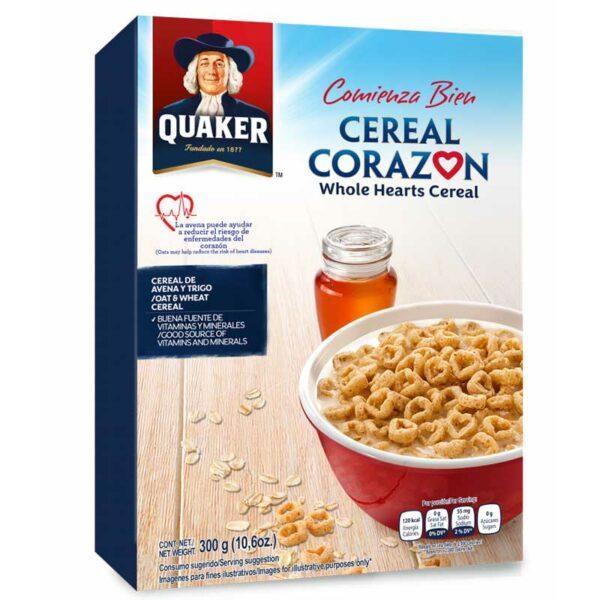 Cereal Quaker Corazón, 300 g