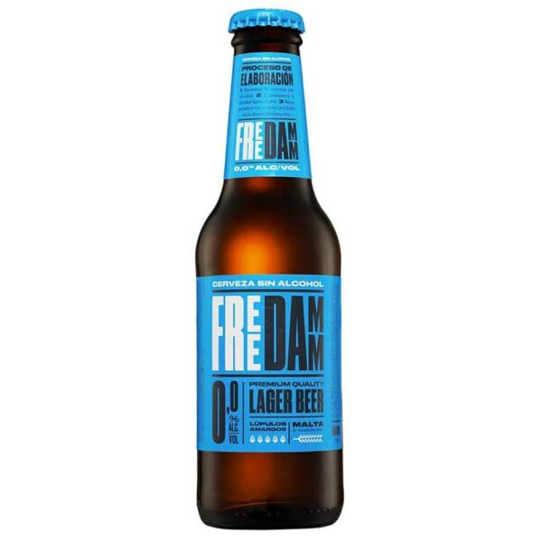 Cerveza Damm Free sin Alcohol, 8.5 oz