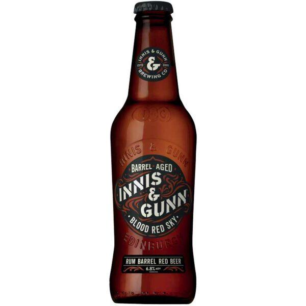 Cerveza Innis & Gunn Blood Red Sky, 11.2 oz