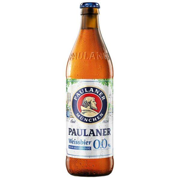 Cerveza Paulaner Hefe-Weißbier Non-Alcoholic, 16.9 oz