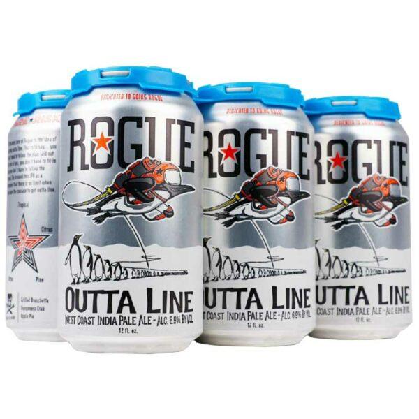 Cerveza Rogue Outta Line IPA, 12 oz Lata