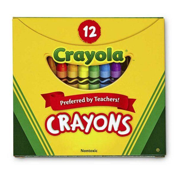 Crayones de Colores Crayola (12 uds)