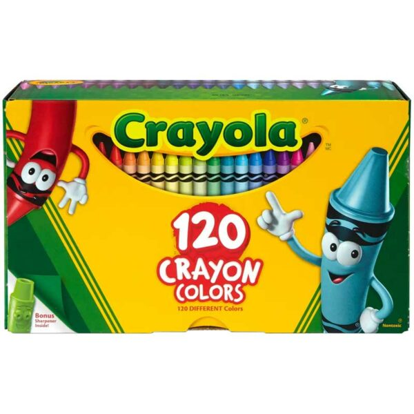 Crayones de Colores Crayola (120 uds)