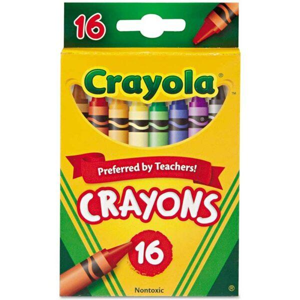 Crayones de Colores Crayola (16 uds)