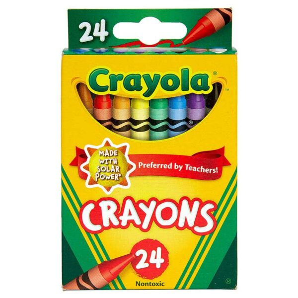 Crayones de Colores Crayola (24 uds)