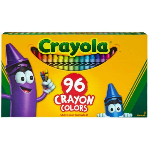 Crayones de Colores Crayola (96 uds)