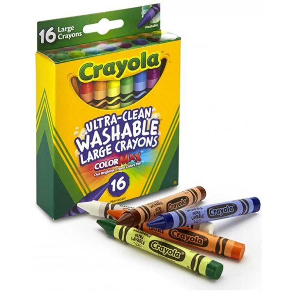 Crayones de Colores Crayola Lavable Lager (16 uds)
