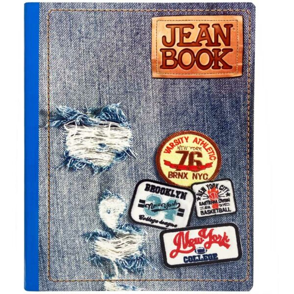 Cuaderno Cosido Jean Book New York Rayado (100 Hojas)