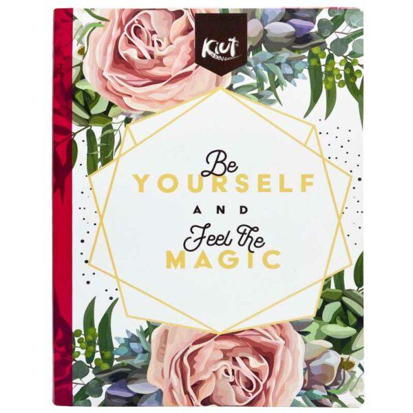 Cuaderno Cosido Kiut Garden Rayado (100 Hojas)