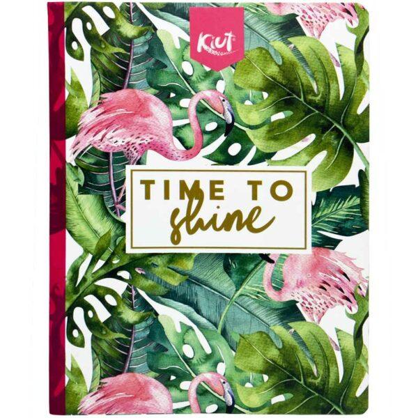Cuaderno Cosido Kiut Summer Rayado (100 Hojas)