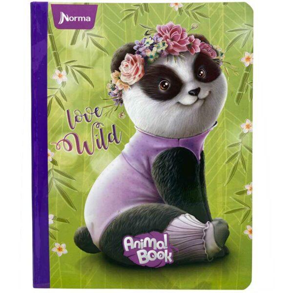 Cuaderno Cosido Norma Rayado Animal Book (100 Hojas)