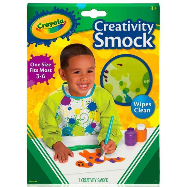 Delantal Infantil Crayola con Mangas