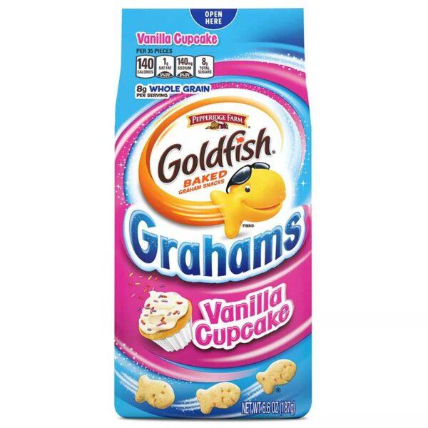 Galleta Goldfish Vainilla Cupcake, 6.6 oz