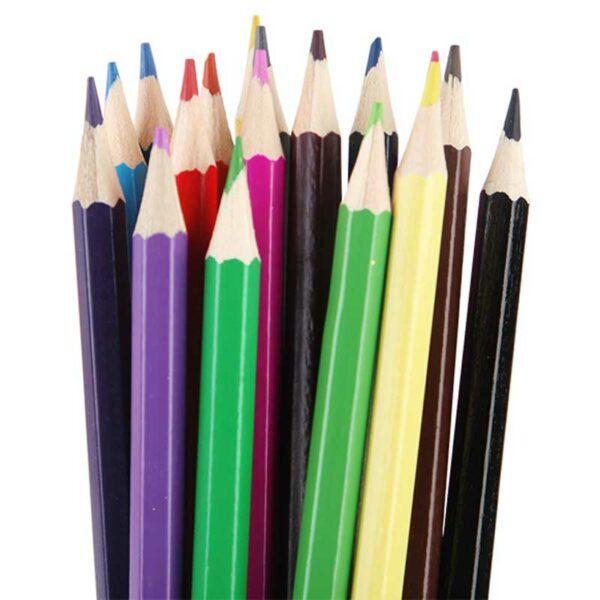 Lápices de Colores Beifa Hexagonal (12 uds)
