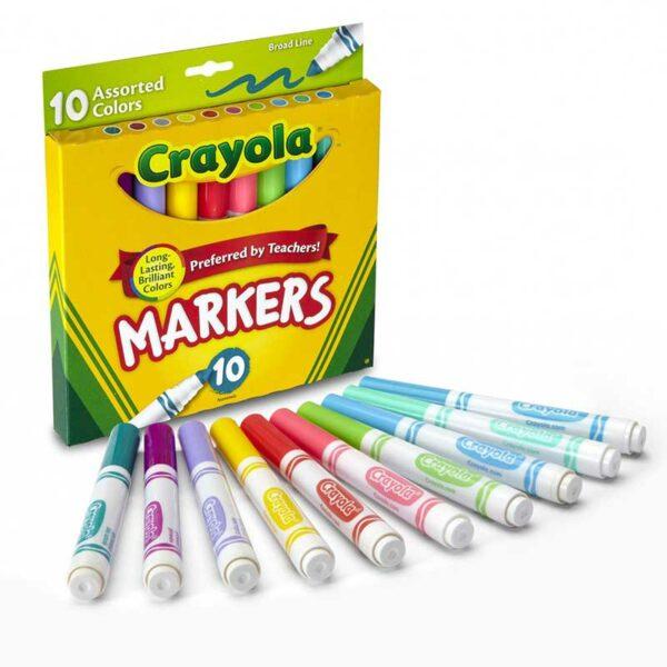 Marcador Lavable Crayola (10 uds)