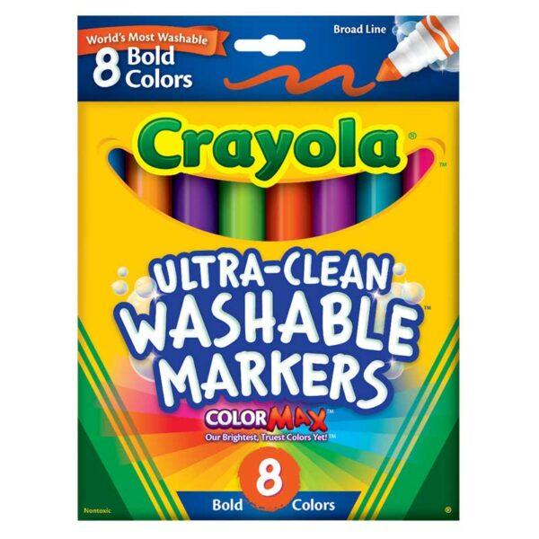 Marcador Lavable Crayola Ultra Clean (10 uds)