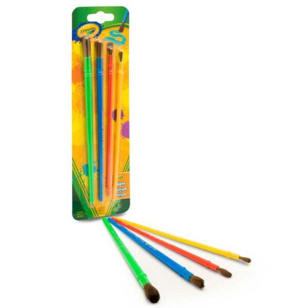 Pinceles para Arte y Manualidades Crayola (4 uds)