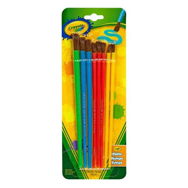 Pinceles para Arte y Manualidades Crayola
