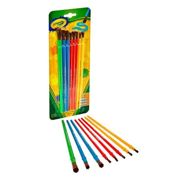 Pinceles para Arte y Manualidades Crayola (8 uds)