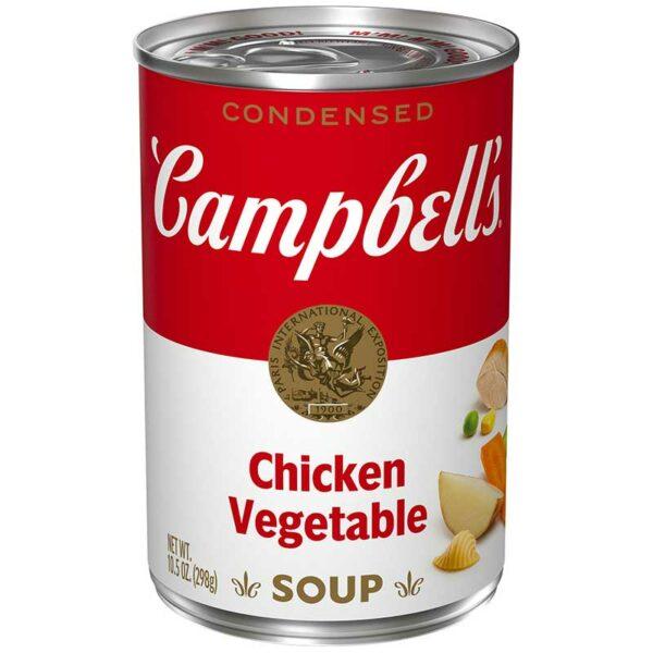 Sopa Condensado Campbell's Pollo con Vegetales, 10.5 oz