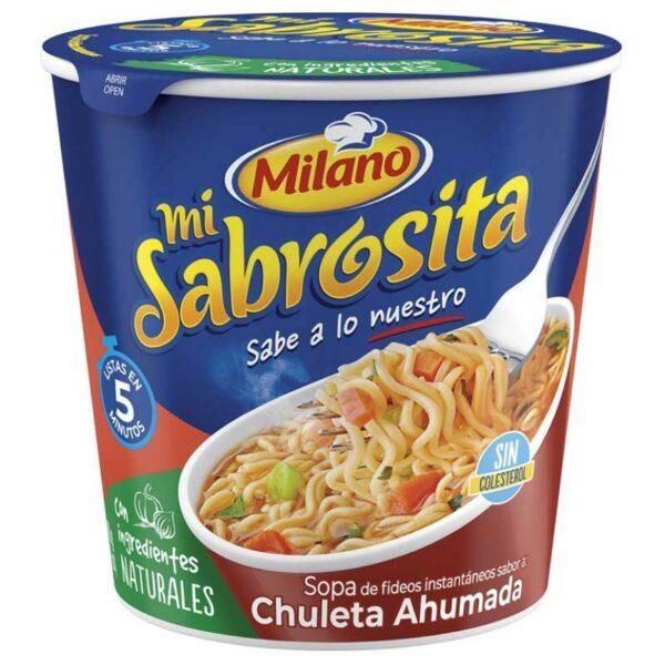 Sopa de Fideos Milano, 70 g