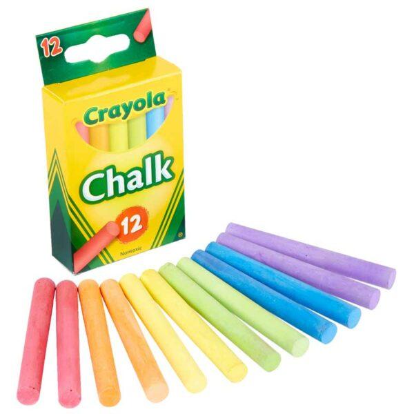 Tizas Crayola Enceradas (12 uds)