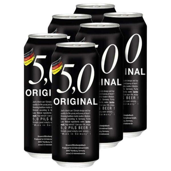 Cerveza 5,0 Original Pils, 16.9 oz