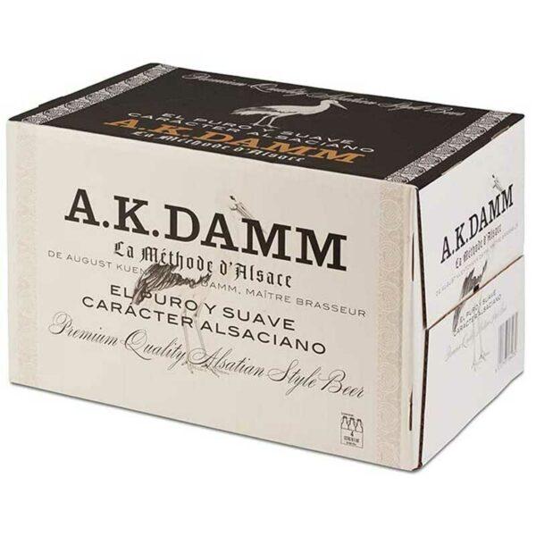 Cerveza A.K. Damm, 11.2 oz