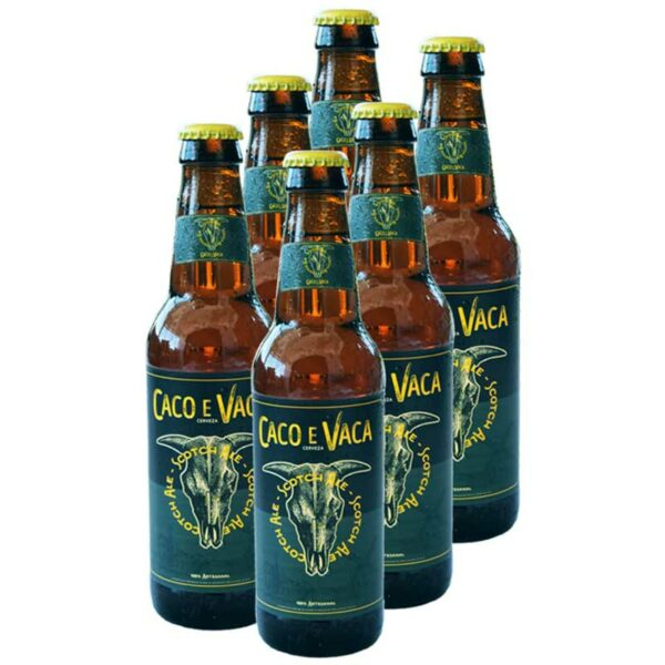 Cerveza Caco e Vaca Scotch Ale, 11.2 oz