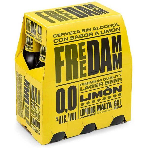 Cerveza Damm Free Limon sin Alcohol, 8.5 oz